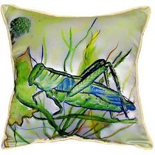 Grasshopper Indoor Outdoor Pillow 22x22 | Betsy Drake | BDZP458