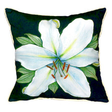 Casablanca Lily Indoor Outdoor Pillow 22x22 | Betsy Drake | BDZP704