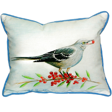 Mockingbird Indoor Outdoor Pillow 20x24 | Betsy Drake | BDZP277