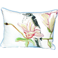 Mockingbird Scene Indoor Outdoor Pillow 20x24 | Betsy Drake | BDZP402