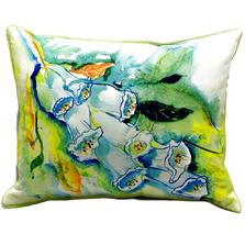 Foxglove Indoor Outdoor Pillow 20x24 | Betsy Drake | BDZP406