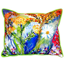 Wild Flower Indoor Outdoor Pillow 20x24 | Betsy Drake | BDZP166