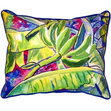 Banana Leaf Indoor Outdoor Pillow 20x24 | Betsy Drake | BDZP287