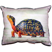 Happy Turtle Indoor Outdoor Pillow 20x24 | Betsy Drake | BDZP491