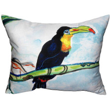 Toucan Indoor Outdoor Pillow 20x24   Betsy Drake   BDZP550