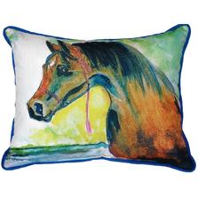 Prize Horse Indoor Outdoor Pillow 20x24 | Betsy Drake | BDZP050