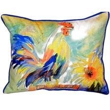 Rooster Indoor Outdoor Pillow 20x24 | Betsy Drake | BDZP265