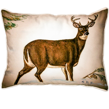 Buck Indoor Outdoor Pillow 20x24 | Betsy Drake | BDZP236