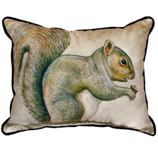 Squirrel Indoor Outdoor Pillow 20x24 | Betsy Drake | BDZP314