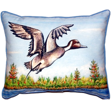 Pintail Duck Indoor Outdoor Pillow 20x24 | Betsy Drake | BDZP394