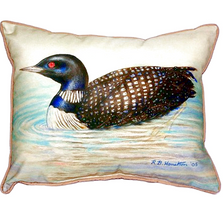Loon Indoor Outdoor Pillow 20x24   Betsy Drake   BDZP130