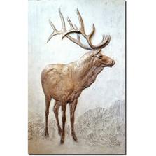 Elk Bas Relief Ltd Edition Wall Art | Rod Zullo
