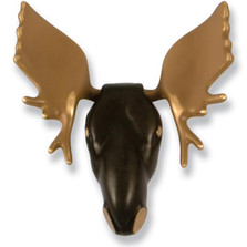 Moose Brass Bronze Door Knocker | MH2552 | Michael Healy