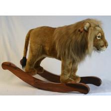 Lion Plush Rocker | Lion Statue Rocker | Hansa Toys | HTU3941