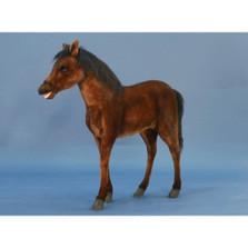 Thoroughbred Foal Giant Horse Stuffed Animal | Plush Horse Foal | Hansa Toys | HTU5448
