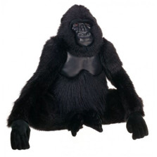Gorilla Life-Sized Stuffed Animal | Plush Gorilla Statue | Hansa Toys | HTU3391
