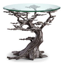 Cypress Tree End Table | 34210 | SPI Home