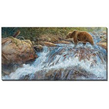 Grizzly Bear Canvas Wall Art | Wild Wings | F950100075