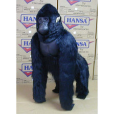 Silver Back Gorilla Stuffed Animal | Plush Gorilla | Hansa Toys | HTU3490