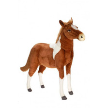 Paint Pony Life-Sized Stuffed Animal | Plush Pony Statue | Hansa Toys | HTU3772