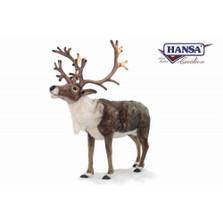 Nordic Reindeer Giant Stuffed Animal | Plush Nordic Reindeer Statue | Hansa Toys | HTU6875