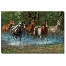 Horse Canvas Wall Art | Wild Wings | F195728081