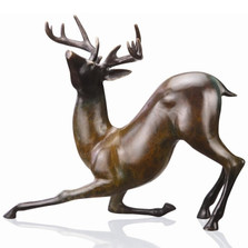 Contemporary Whitetail Deer Sculpture | 80162 | SPI Home