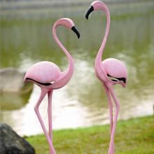 Pink Flamingo Garden Sculptures | 33349 | SPI Home -2