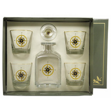 Compass Rose Decanter Set | Richard Bishop | 2039COM