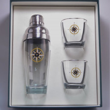 Compass Rose Cocktail Shaker Set | Richard Bishop | 2037COM