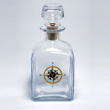 Compass Rose Decanter | Richard Bishop | 2061COM