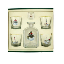 Lighthouse Decanter Set | Richard Bishop | 2039LIG