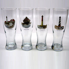 Lighthouse Pilsner Glass Set | Richard Bishop | 2041LIG
