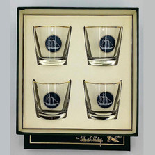 Sailboat Cocktail Glass Set | America's Cup | Richard Bishop | 2025AME