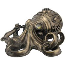 Steampunk Octopus Trinket Box | Unicorn Studios | WU76585A1