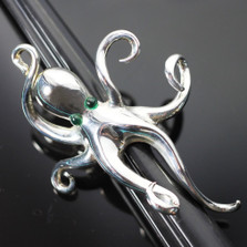 Octopus Sterling Silver Ring | Anisa Stewart Jewelry | R1055