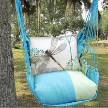 "Dragonfly Hammock Chair Swing ""Meadow Mist"" 