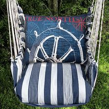 Ship Wheel Hammock Chair Swing | Magnolia Casual | MATC501-SP-2