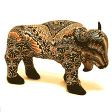 Buffalo Papa Figurine New | FimoCreations | FBUPN