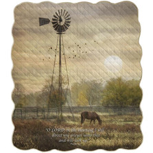 Horse Inspirational Quilt | Manual Woodworkers | AIQTOL