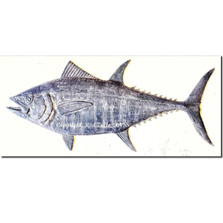 Bluefin Tuna Bas Relief Ltd Edition Wall Art | Rod Zullo