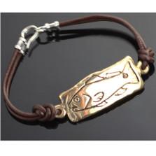Bronze Redfish Tag Bracelet | Anisa Stewart Jewelry | ASJBRBF1003