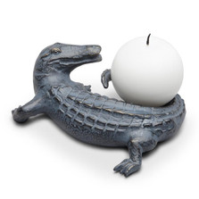 Alligator Candle Holder | SPI Home | 34657