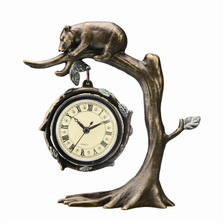 Bear on Tree Desk Clock | SPI Home | 33394