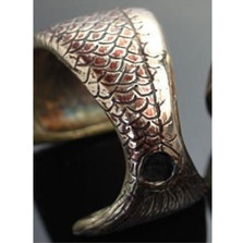 Redfish Bronze Cuff Bracelet | Anisa Stewart Jewelry | ASJBRB1007 -1