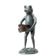 Frog Garden Planter Sculpture   34261   SPI Home