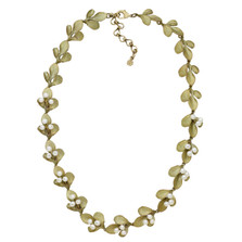 Barberry Adjustable Contour Necklace | Michael Michaud Jewelry | 9124BZWP