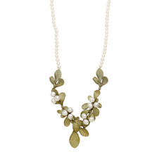 """Barberry 18"""" Pearl Necklace 