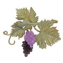 Grapevine Pin | Michael Michaud Jewelry | 5965BZ