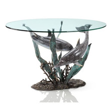 Dolphin Coffee Table Duet   80267   SPI Home